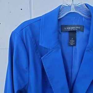 Lane Bryant Blue suit blazer